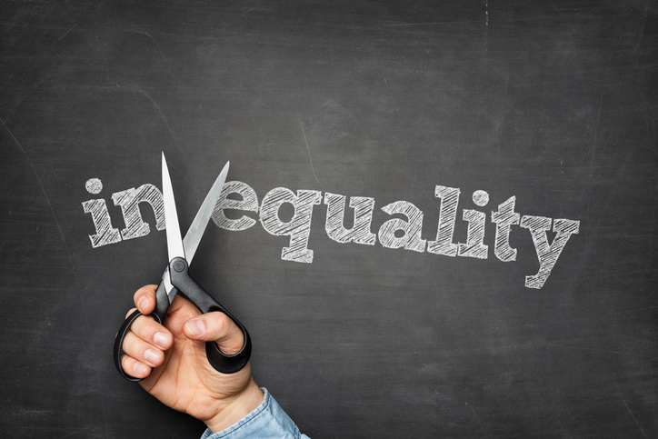 Inequality on blackboard