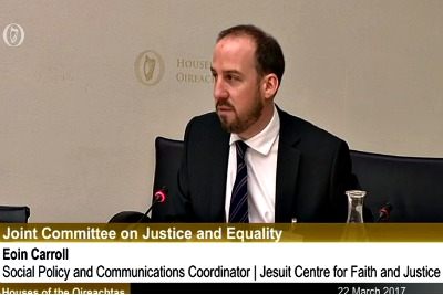 Eoin Carroll Justice Committee