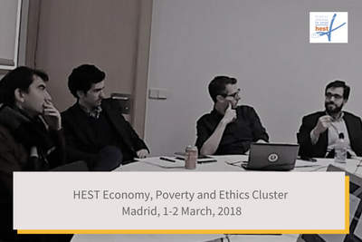 HEST Economy Poverty and Ethics Cluster Update