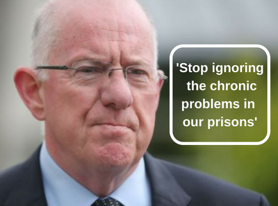Stop ignoring the chronic problems in our prisons