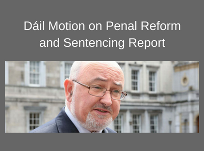 Motion on Penal Reform and Sentencing Report
