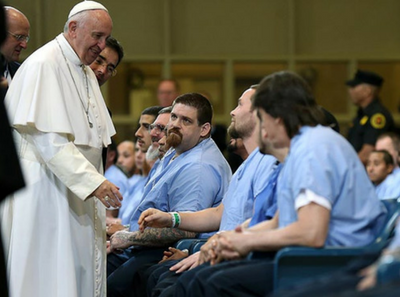 pope prisoners