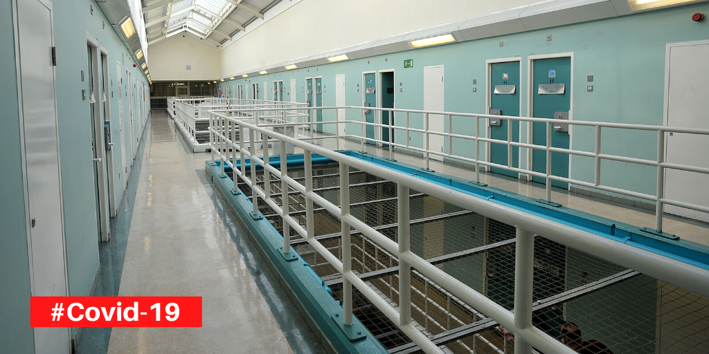 Temporary Release Needed to Prevent Spread of COVID-19 to Prisons