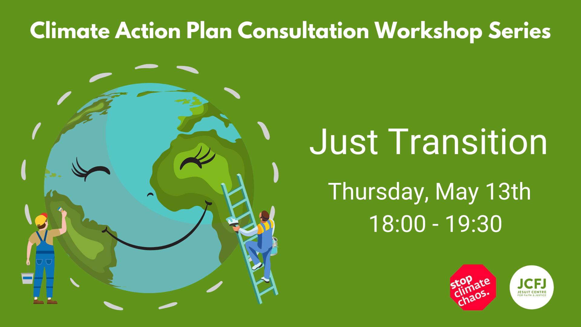 Just Transition Consultation Workshop